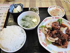 ランチ:酢豚定食650円@中華料理・王さん・高宮