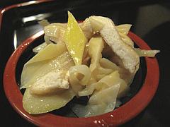 ランチ:竹の子の煮物@そば処まさや・薬院