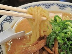 料理:味噌ラーメン麺@中華そば藤王・小倉