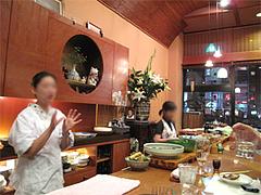 店内:カウンターその1@博多なゝ草(はかたななくさ)・西中洲