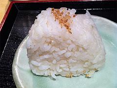 ランチ:塩味おにぎり@天つるり・西鉄天神ソラリアステージビル店