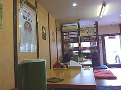 店内:小上がり掘り炬燵@元祖肉肉うどん・千代店