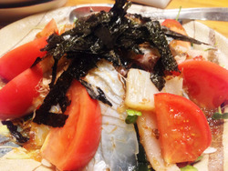 4海鮮サラダ@寿司えび吉