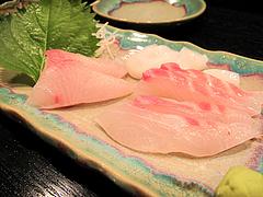 8昭和レトロな日本酒バー:刺身の盛り合わせ@居酒屋・酒菜の店みき・大橋