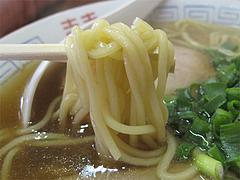 料理:醤油ラーメンの麺@中国飯店・福岡市中央区平和