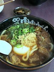 料理:肉肉うどんデラックス@元祖肉肉うどん・千代店