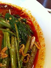 ランチ:トムヤム麺空芯菜@タイ料理レストラン・バンダル・天神西通り