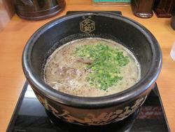 15博多豚骨つけ麺650円@博多一幸舎・大名本家