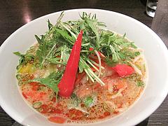 料理:野菜胡麻坦麺680円@博多屋・渡辺通