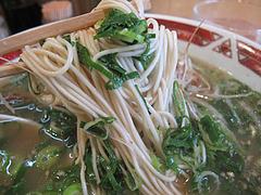 9ランチ:葱ラーメン麺@らーめん本舗・博多葱一・天神