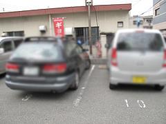 18外観:駐車場@一心亭・干隈店