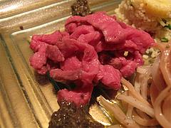 7フレンチ・和食:低温調理を施したウワミスジのカルパッチョ・とんぶり@欧割烹・清水・桜坂
