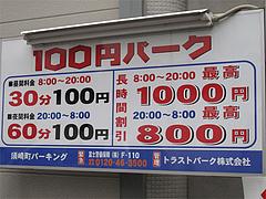 その他:今日の駐車場@三九ラーメン須崎店・博多区