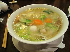料理:海鮮あんかけ汁そば@チャイニーズキッチン CHINA(チャイナ)