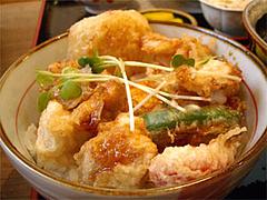 とり天親子丼@うどん屋『麺やほり野』