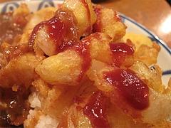 料理:玉ねぎフライ@文化屋カレー店・博多区住吉
