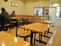 店内:イートインコーナー@蜂楽饅頭・西新