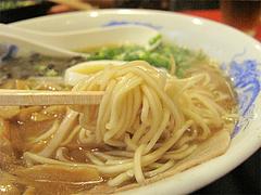 ランチ:ラーメン麺@そば処まさや・薬院