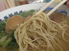 ランチ:ラーメン麺カタ@元祖長浜ラーメン長浜屋台・地鶏食堂