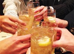 2乾杯@六ヶ城(ろっかんじょう)