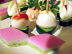 料理:ピンチョス盛り合わせ@ひなまつり・女子会