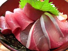 ランチ:魚男丼(海鮮丼)3@博多炉端・魚男(フィッシュマン)・今泉・天神