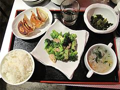 12中華ランチ:焼餃子ランチ780円@上海モンナリーサ・大名・天神西通り