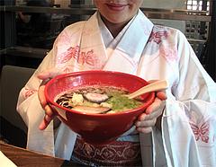 ランチ:醤油とんこつ麺の丼@ラーメン・博多五行・今泉