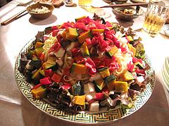 8フェットチーネの麺サラダ@女子会