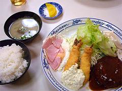 『ちじわ』のスペシャル定食680円@福岡・大橋