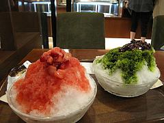 料理:氷かき食べる@上島珈琲店・博多駅デイトス店