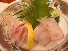 鯛の昆布〆@福岡・西中洲・博多なゝ草