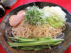 8料理:廣島つけ麺(冷)並780円@廣島つけ麺本舗ばくだん屋・中州店
