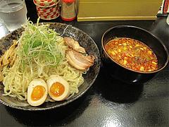 6ランチ:辛味噌つけそば大900円@廣島つけ麺本舗・ばくだん屋・大橋店