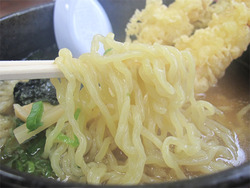 10たまご麺です@丸八ラーメン