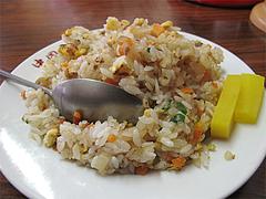料理:ミニヤキメシセットの焼飯@中国飯店・福岡市中央区平和