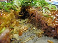 7ランチ:肉玉そば@広島お好み焼き・ひらの・福岡店
