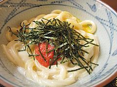 料理:明太釜玉・並380円@丸亀製麺・西月隈店