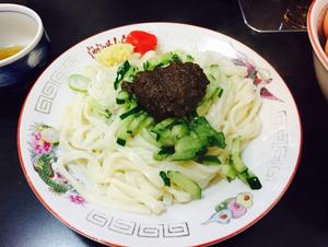 11じゃじゃ麺小盛り450円@白龍
