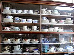 14店内:コーヒーカップいっぱい@吉浦亭