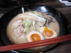 料理:味噌らーめん+半熟煮玉子100円@麺家一清・荒戸
