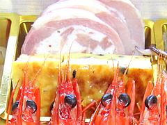 料理:海鮮鶏蛋(たまご)焼・鶏腿(もも)の巻物@2011セントラルホテル福岡お節(おせち)・三の重