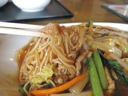 8肉焼きそば@ウエスト中華麺飯