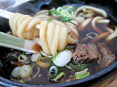 料理:肉うどん麺@小倉名物肉うどん・ひろちゃん・上牟田