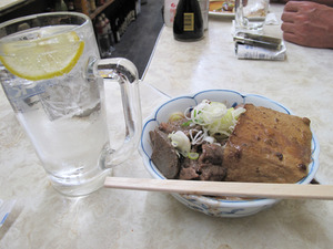 13牛煮込み豆腐@一平