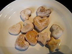 12カフェ:ワンちゃん用手作りクッキー(りんご・かぼちゃ・にんじん)@ドッグカフェレストラン・ワンパーク大濠店