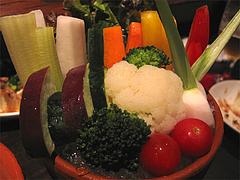 メニュー:バーニャカウダ野菜@居心地屋REON(レオン)・薬院