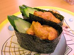 料理:うに@かっぱ寿司・博多半道橋店