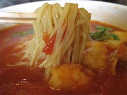 13シーフードチリとまとラーメン麺@ウエスト中華麺飯