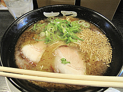料理:焦がしネギ豚骨らーめん@ラーメン壱屋・六本松